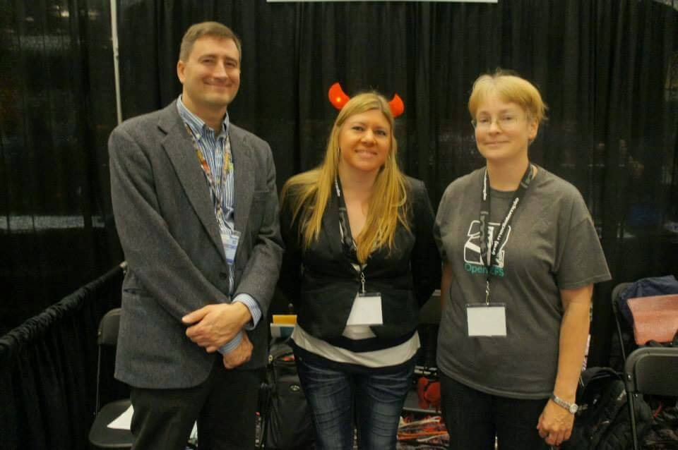 The FreeBSD Booth Crew - Photo courtesy