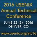 2016 USENIX Annual Technical Conference