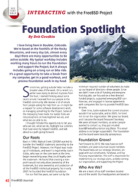 Foundation Spotlight