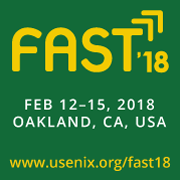 USENIX FAST 2018
