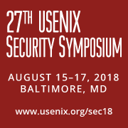 USENIX Security '18
