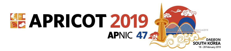 APRICOT 2019