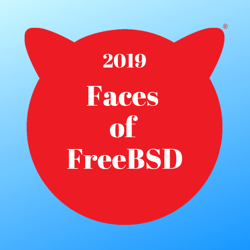 Faces of FreeBSD 2019: Roller Angel